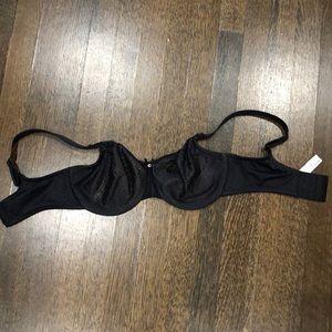 Chantelle black bra 32DDD/ 32F